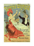 Reproduction of a Poster Advertising the &quot;Taverne Olympia &quot; Paris  1899