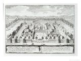 "Baths of Diocletian  Rome  from ""Entwurf Einer Historischen Architektur "" 1721"