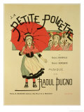 "Reproduction of a Poster Advertising the Operetta ""La Petite Poucette "" 1891"