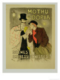 Reproduction of a Poster Advertising Mothu and Doria'In Impressionist Scenes  1893