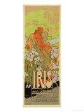 "Reproduction of a Poster Advertising ""Iris "" a Comical Opera  1898"