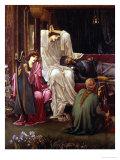 The Last Sleep of Arthur in Avalon  1881-98 (Detail)