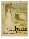 "Reproduction of a Poster Advertising the Opera ""Helle"""