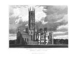 "Fonthill Abbey from the South-West  from ""Graphic and Literary Illustrations of Fonthill Abbey"""