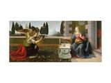 L'Annonciation, 1472-75 Giclée par Leonardo Da Vinci