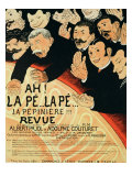 "Reproduction of a Poster Advertising ""Chauffons  Chauffons "" a Pepiniere Concert  1898"