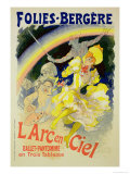 "Reproduction of a Poster Advertising ""The Rainbow"""