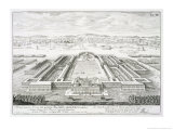 "Golden Palace of the Emperor Nero  Rome  from ""Entwurf Einer Historischen Architektur "" 1721"