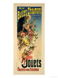 """Reproduction of a Poster Advertising """"New Year Gifts at the Buttes Chaumont"""""""