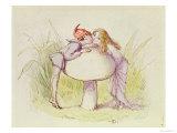 An Elf and a Fairy
