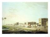"Port of Cheringhee  Calcutta  Plate 32 from ""Oriental Scenery: Twenty Four Views in Hindoostan"""