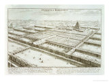 Panoramic View of the Royal Palace and Hanging Gardens of Babylon