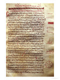 """Page of Text with Geometrical Figures  from """"Geometry"""" by Euclid"""