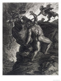 Sisyphus Pushing His Stone up a Mountain  1731