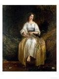 Ophelia Weaving Her Garlands  1842