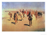 Francisco Vasquez De Coronado Making His Way Across New Mexico  from &quot;The Great American Explorers&quot;