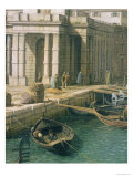 Entrance to the Grand Canal: Looking West  circa 1738-42 (Detail)