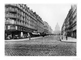 Paris  Rue Soufflot  the Pantheon  1858-78
