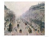 Boulevard Montmartre  1897