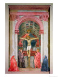 The Trinity  1427-28 (Detail)