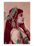 Postcard of Mata Hari Before 1914