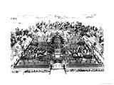 Gardens of Yuan Ming Yuan  Peking  1783-86