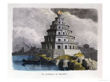 "The Great Lighthouse of Alexandria  from a Series of the ""Seven Wonders of the World"""