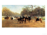 The Morning Ride  Rotten Row  Hyde Park  1894