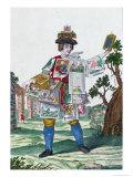 Picture Seller  circa 1735