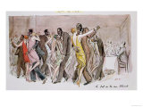 """Reproduction of """"The Ball at the Rue Blomet """" December 1929"""