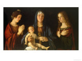 Virgin and Child with St Catherine and Mary Magdalene  circa 1500