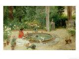 The Flower Garden  1899