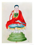 Buddha Seated on a Lotus Flower