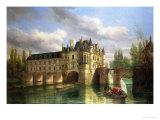 Le Chateau De Chenonceau  1843