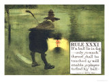 Rule XXXI: If a Ball Lie in Fog