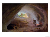 Cavemen During the Ice Age  after a Sketch by Professor Klaatsch  Late 19th Century