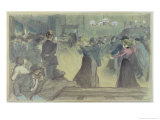 Ball in a Paris Suburb  circa 1892