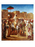 The Moroccan Chief  1845