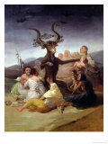 The Witches' Sabbath  1797-98 (Detail)