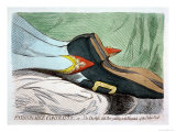 Fashionable Contrasts  or the Duchess's Little Shoe Yielding to the Magnitude of the Duke