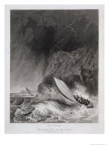The Boats off Walden Island in a Snow Storm  August 12th 1827
