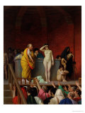 Sale of a Slave Girl in Rome  1884