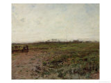 Landscape with a Peasant Woman  Early 1870s
