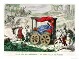 "The Chariot of One of the ""Rois Faineants"""