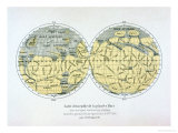 Assembled Map of the Planet Mars  from Observations Made During Six Oppositions in 1877-88