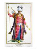 Genghis Khan from Receuil Des Estampes  Representant Les Rangs Et Les Dignites
