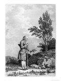 Jean-Jacques Rousseau Gathering Herbs at Ermenonville June 1778