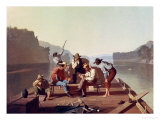 Ferrymen Playing Cards  1847