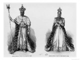 General Faustin Soulouque as Emperor of Haiti  and Adelina as Empress of Haiti  1856