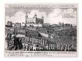 The Execution of Thomas Wentworth Earl of Strafford  Tower Hill  12th May 1641